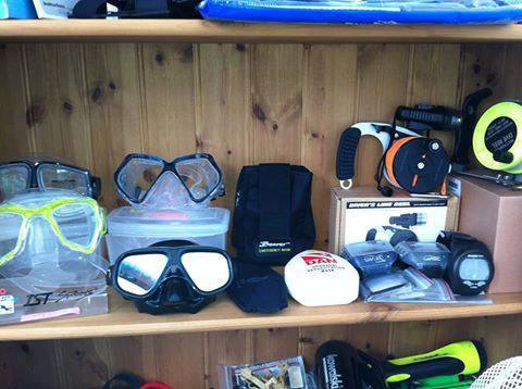An Aladdins cave of New & Used Diving Equipment